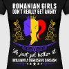 Romanian Girls Dont Really Get Angry Brilliant Agg - Women's Premium T-Shirt