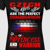 Czech Girls Are The Perfect Combination Of Princes - Women's Premium T-Shirt