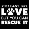 You Can't Buy Love But You Can Rescue It - Women's Premium T-Shirt