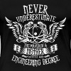 With an engineering degree - Never underestimate - Women's Premium T-Shirt