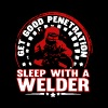Sleep With A Welder - Women's Premium T-Shirt