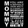 Mommy - You are as beautiful as snow white - Women's Premium T-Shirt