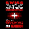 Swiss Girls Are The Perfect Combination Of Princes - Women's Premium T-Shirt