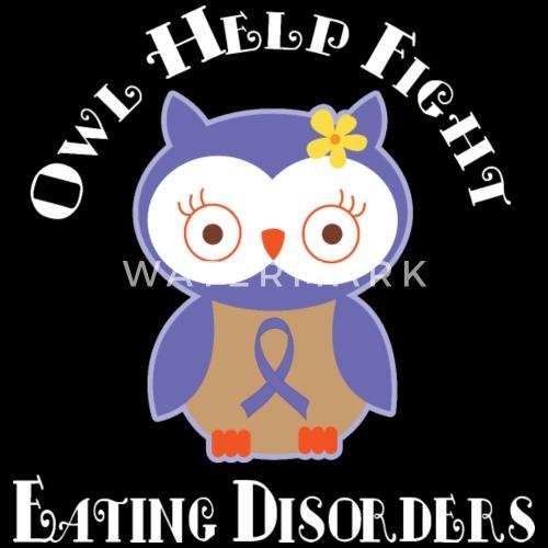 Eating Disorder Awareness Ribbon Owl By Homewiseshopper Spreadshirt