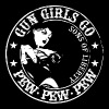 Gun girls go Pew Pew Pew - Sons of liberty - Women's Premium T-Shirt