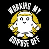 Workout - Working my adipose off awesome t-shirt - Women's Premium T-Shirt