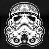Storm Trooper Sugar Skull - Women's Premium T-Shirt