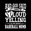 God Made Baseball Moms - Women's Premium T-Shirt
