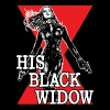 His Black Widow - Captain America fan - Women's Premium T-Shirt