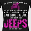 jeep girls are just like normal girls only prettie - Women's Premium T-Shirt