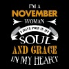 Im a November woman - Women's Premium T-Shirt