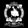 Princess are Born in July 1957 - Women's Premium T-Shirt