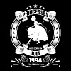Princess are Born in July 1994 - Women's Premium T-Shirt