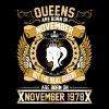The Real Queens Are Born On November 1978 - Women's Premium T-Shirt