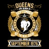 The Real Queens Are Born On September 1976 - Women's Premium T-Shirt
