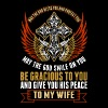 God Bless You And Protect You To My Wife - Women's Premium T-Shirt
