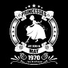 Princess are Born in May 1970 - Women's Premium T-Shirt