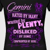Gemini Hated By Many Wanted By Plenty - Women's Premium T-Shirt
