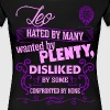 Leo Hated By Many Wanted By Plenty - Women's Premium T-Shirt