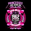 Princesses Are Born On May 1963 54 Years - Women's Premium T-Shirt