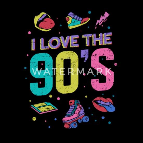 90's Themed Party Women's Premium T-Shirt | Spreadshirt