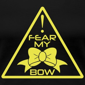 CheerleaderCollection Fear My Bow Multicolor - Women's Premium T-Shirt