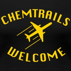 Chemtrails Welcome - Conspiracy Shirt for Pilots - Women's Premium T-Shirt