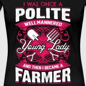 Lady Farmer - Women's Premium T-Shirt