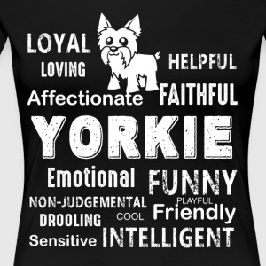 Yorkshire Terrier Dog Shirt - Women's Premium T-Shirt