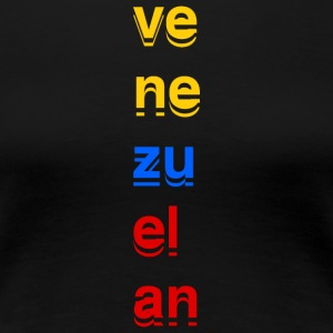 VE NE ZU EL AN - Women's Premium T-Shirt