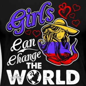 Colombian Girls Can Change The World - Women's Premium T-Shirt