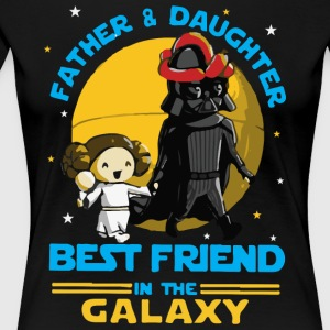 Father and Daughter in the Galaxy - Women's Premium T-Shirt