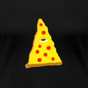 ILLUMINATI'S PIZZA (beta edition) - Women's Premium T-Shirt