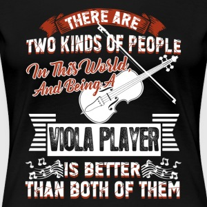 VIOLA PLAYER SHIRT - Women's Premium T-Shirt