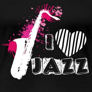 Jazz - Awesome jazz t-shirt for all jazz lovers - Women's Premium T-Shirt