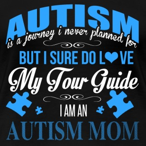 Autism It is a journey I never planned for tee - Women's Premium T-Shirt