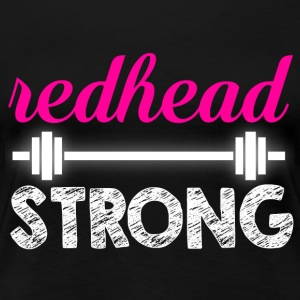 Redhead T-shirt - Strong weightlifting - Women's Premium T-Shirt