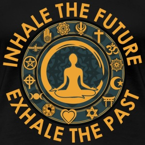 Inhale the future - Women's Premium T-Shirt