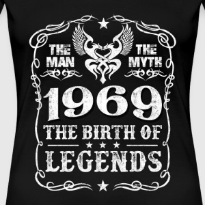 1969 - 1969 is the birth of legends awesome tee - Women's Premium T-Shirt