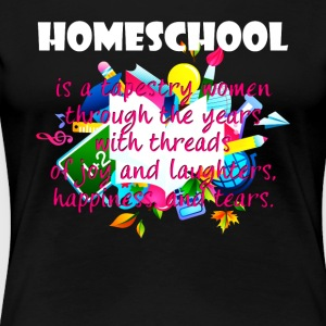 Homeschool Tee Shirt - Women's Premium T-Shirt