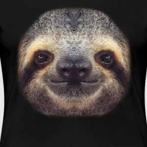 Sloth Face T Shirt - Women's Premium T-Shirt