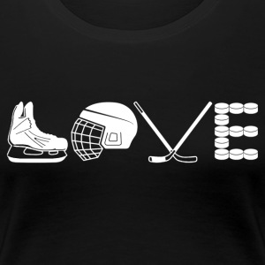 Love Hockey Shirt - Women's Premium T-Shirt