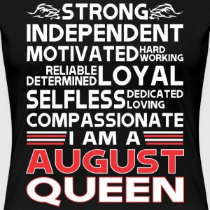 strong independent motivates hardworking i am an a - Women's Premium T-Shirt