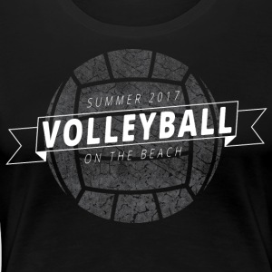 Summer 2017 Volleyball on the Beach - Women's Premium T-Shirt