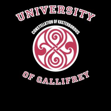 Doctor Who Gallifrey University By Shintatees Spreadshirt