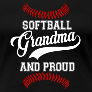 Softball Grandma - Women's Premium T-Shirt