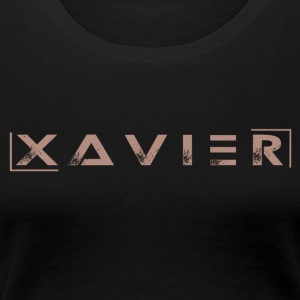XAVIER GOLD EDITION - Women's Premium T-Shirt