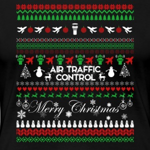 Air Traffic Control Christmas Shirt - Women's Premium T-Shirt