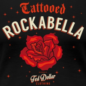 Tattooed Rockabella - Women's Premium T-Shirt