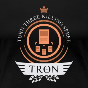 Magic the Gathering - Tron Life V2 - Women's Premium T-Shirt